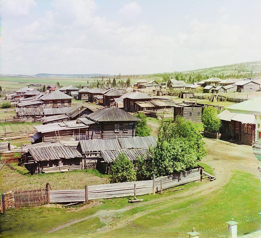 Северная часть села Ныроб. Не ранее 1912.