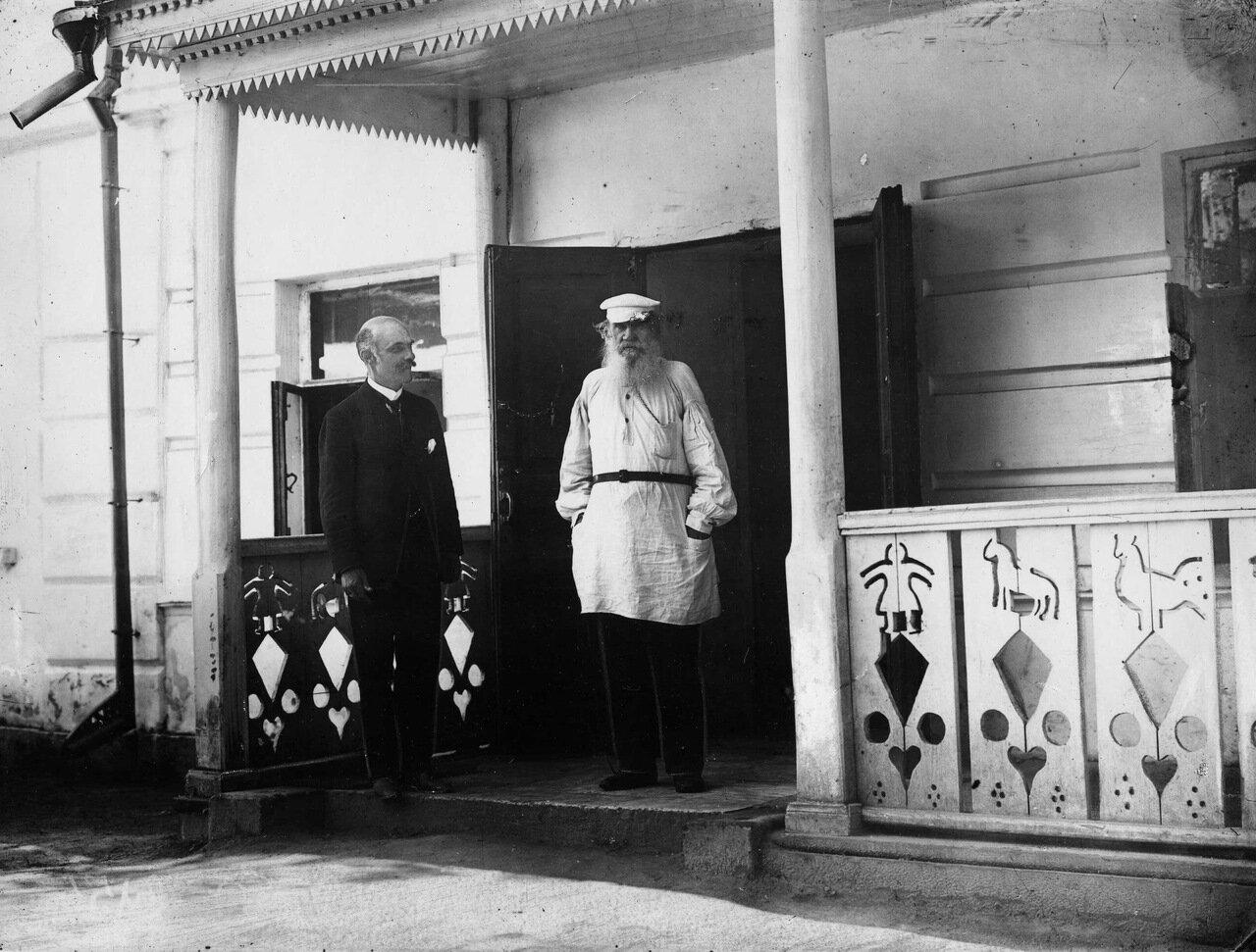 Карл Булла и Лев Толстой. Ясная Поляна.
