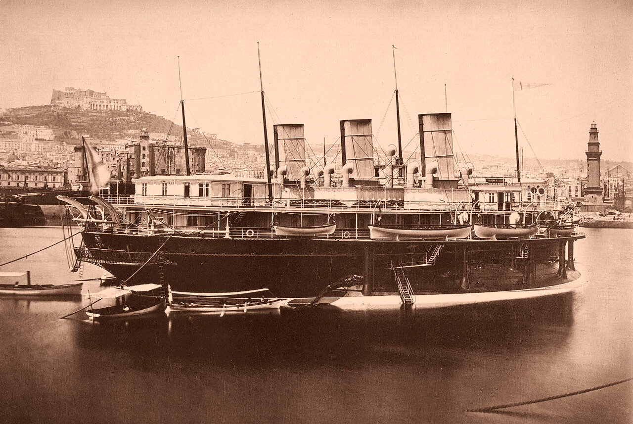 15. Яхта «Ливадия»