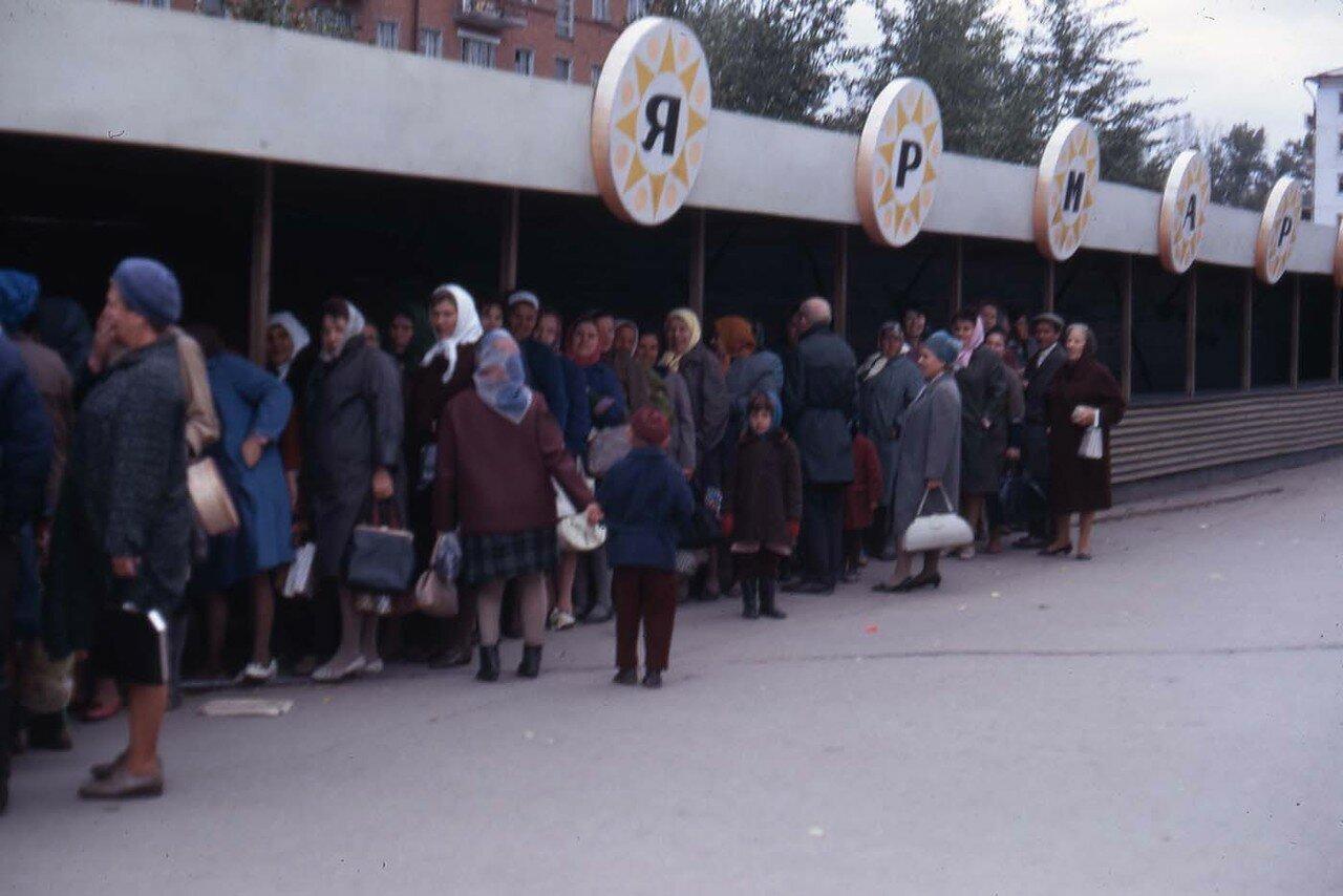 21. Новосибирск. Очередь