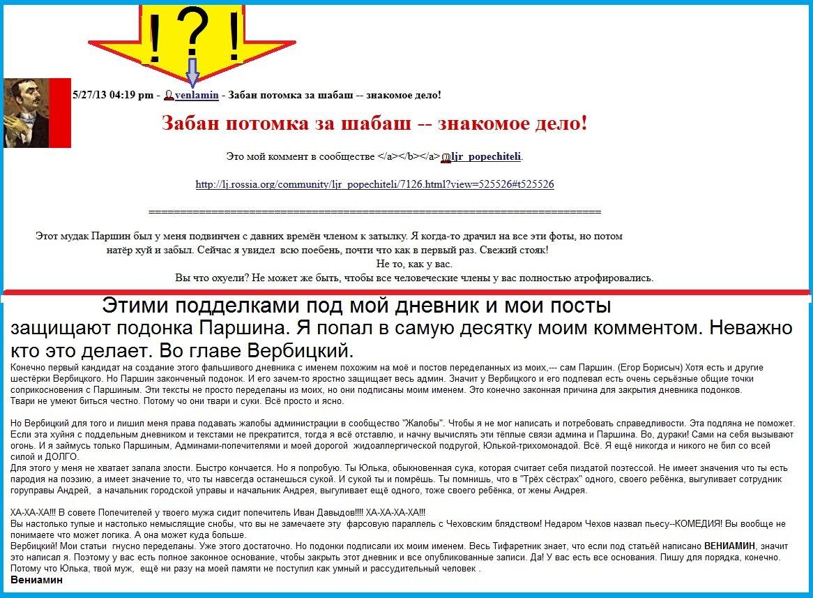 Паршин, Вербицкий, Фридман, Вербицкая, Левченко