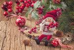 Little santa decoration