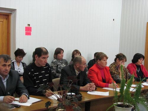 заседание совета в Урмарском районе