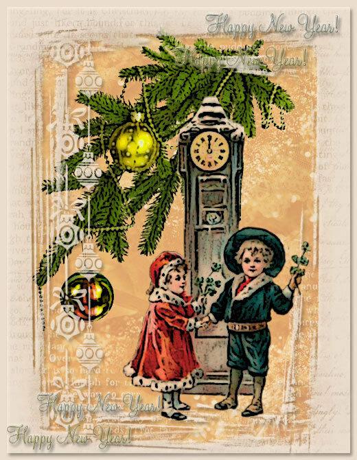 мои новогодние открытки