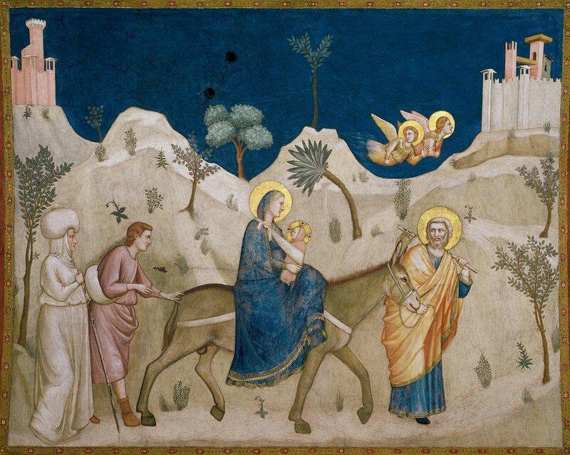 8.Бегство в Египет (1310).jpg