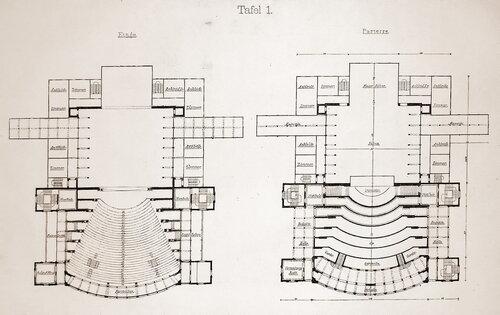 Оперный театр Вагнера в Байройте, планы
