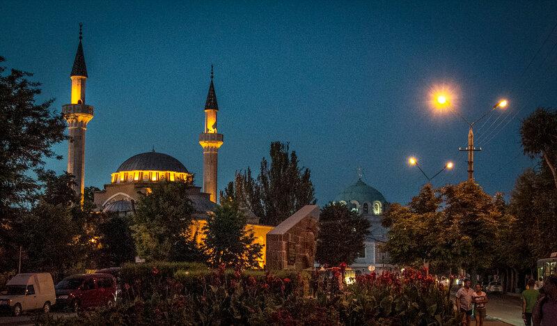 Джума-Джами - мечеть Хан-Джами