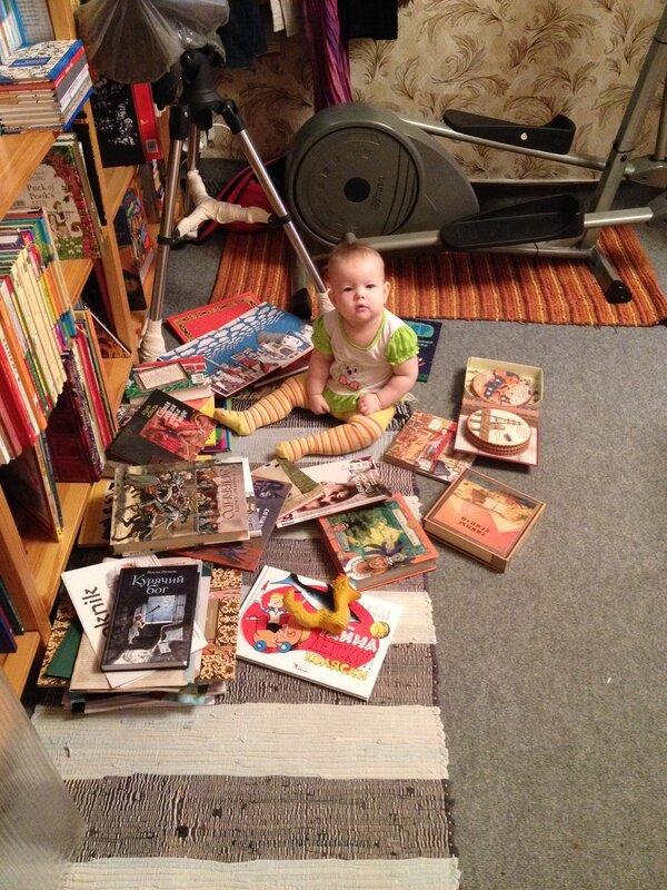 Анечка-читатель