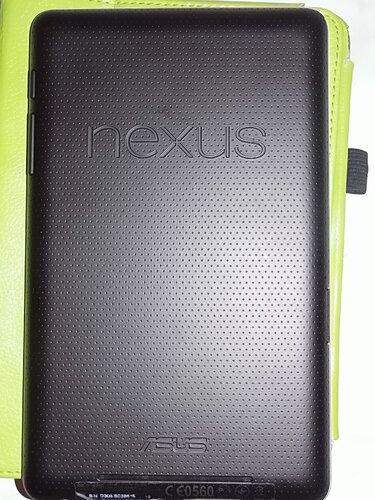 Google Nexus 7 for Asus вид задней панели