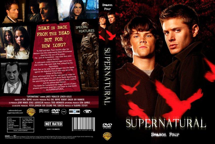 Подборка обложек дисков сериала «Сверхъестественное ...