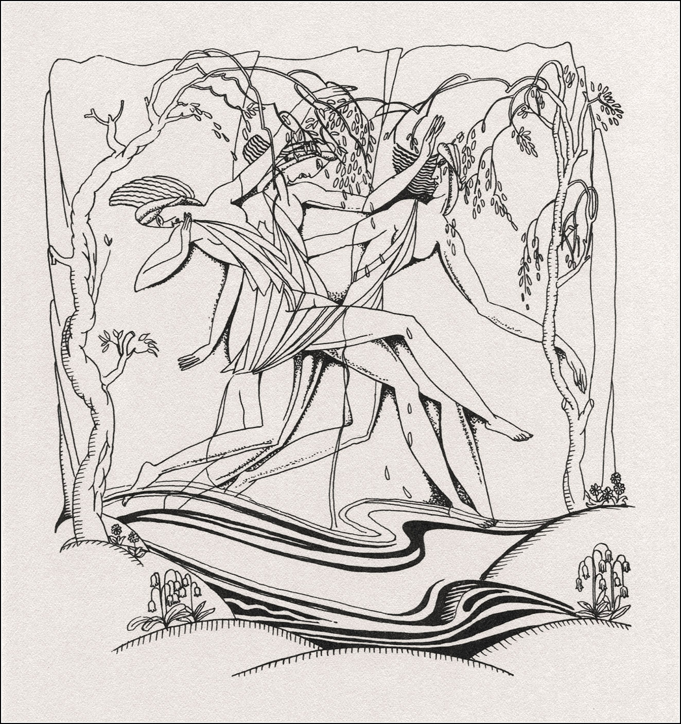 John Austen. Daphnis and Chloe