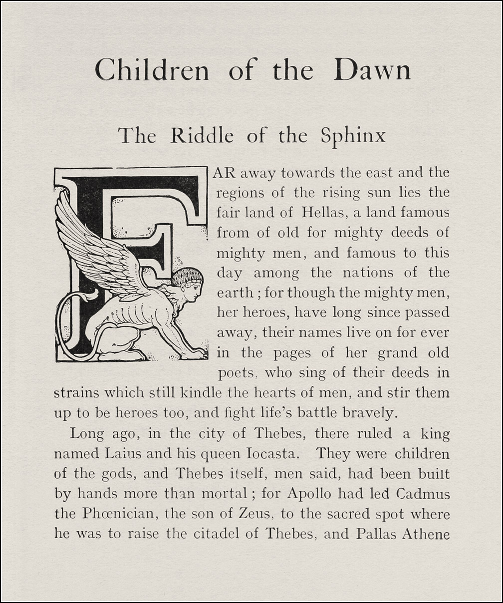 Frank C. Pape, Children of the dawn