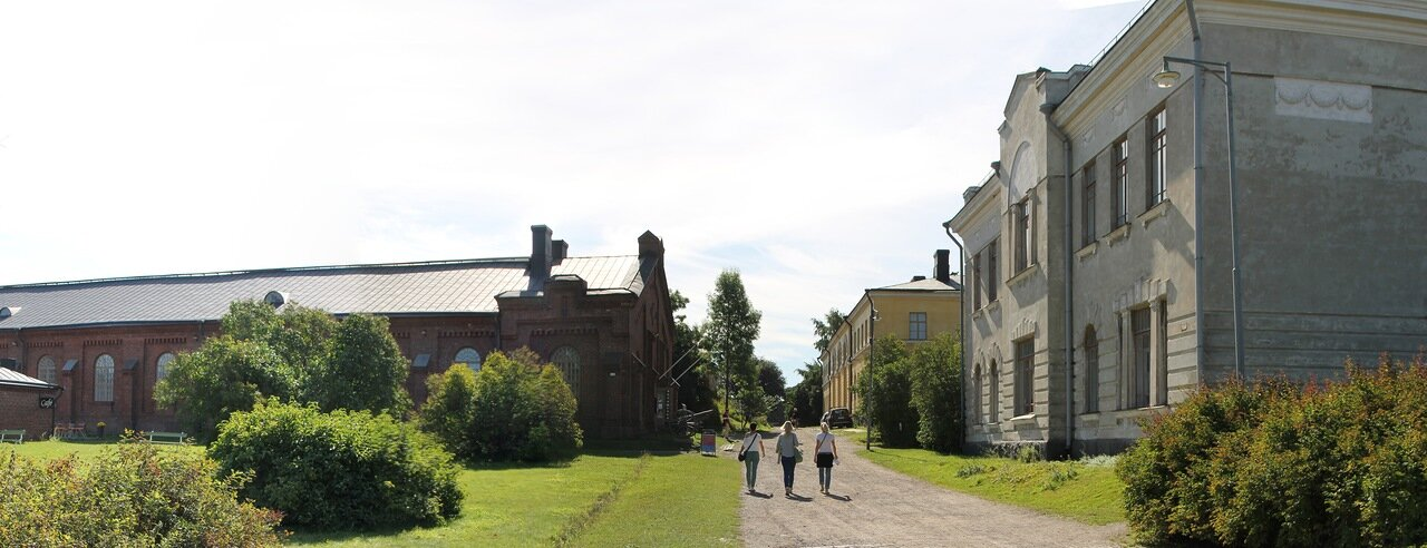 Крепость Суоменлинна.  Helsinki, Suomenlinna castle.