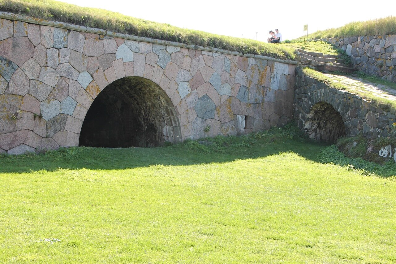 Крепость Суоменлинна. Южный бастион Кустаанмиекка