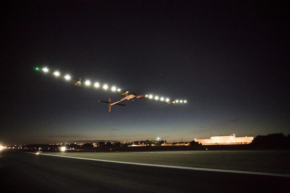 Путешествие «Солнечного Импульса» над Америкой закончилась 6 июля 2013 в Нью-Йорке. Этот четыре