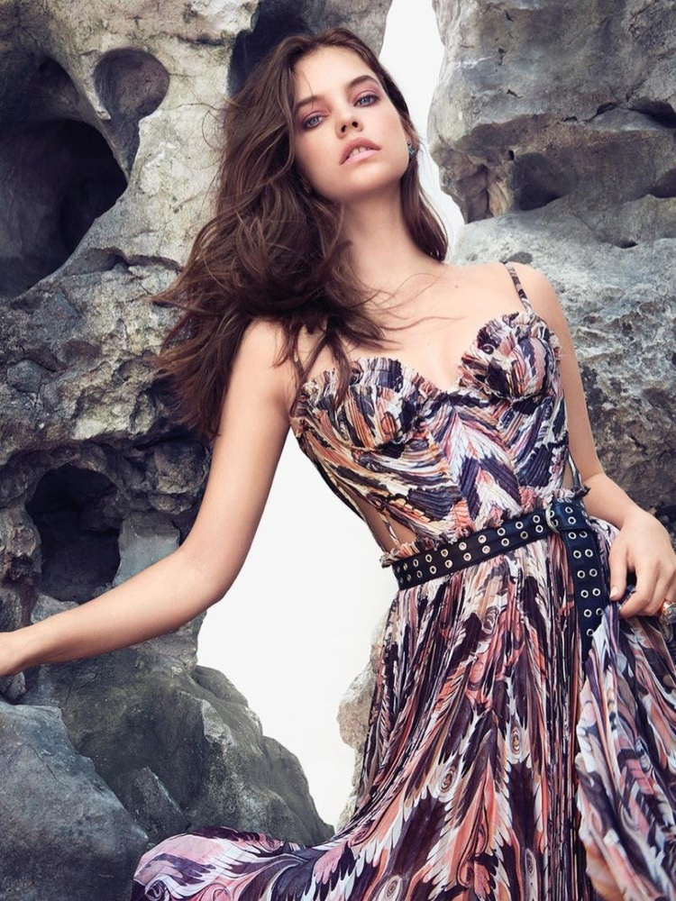 Барбара Палвин на обложке Harper's Bazaar Greece