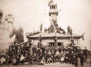 Бологовское Вольное Пожарное Общество. Новгородская губерния. 1912 г.