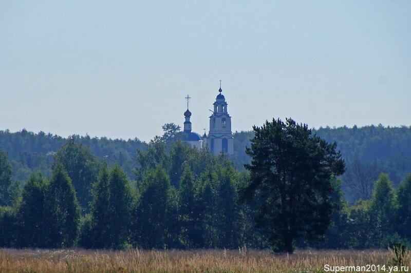 село Ильинское - Храм Георгия Победоносца