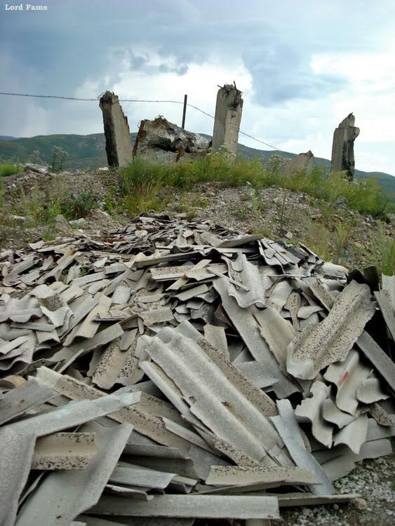 Заброшенный арматурный завод