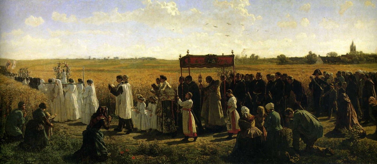 4 Jules-Adolphe Breton     The Blessing of the Wheat in Artois.jpg