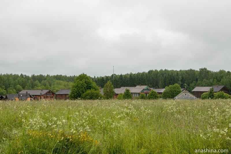 Семёнково, архитектурно-этнографический музей Вологодской области
