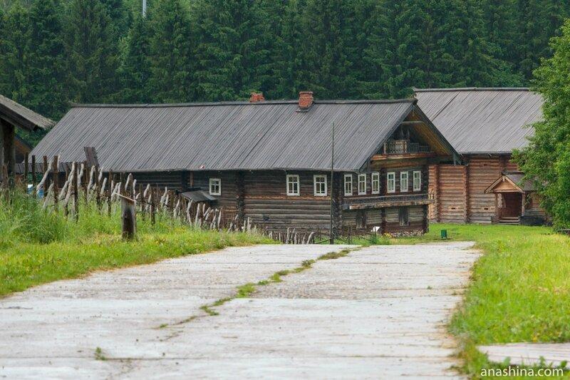 Семёнково, архитектурно-этнографический музей Вологодской области. Дом В.В.Храпова