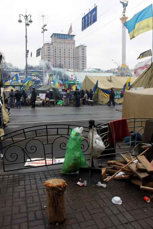 Палаточный лагерь на Крещатике