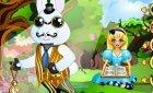 Винкс для вас игра Одень кролика из Алиса в Стране Чудес