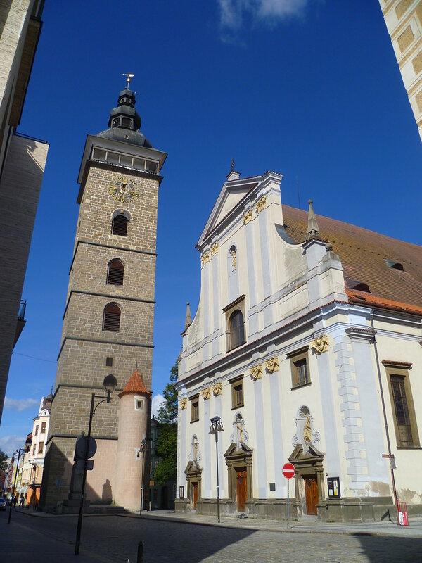 Чехия, Ческе-Будеёвице - Черная башня (Czech Republic, Ceske Budejovice - Black Tower)