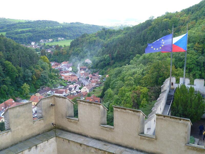 Чехия, около замка Карлштейн (Czech Republic, near the castle Karlstejn)