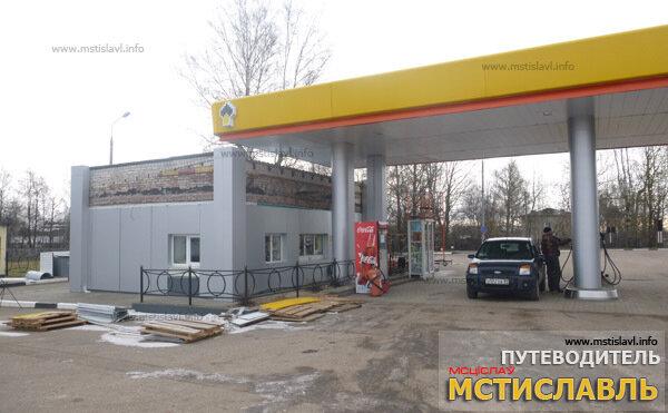 Бензозаправка №27 в п.Хиславичи