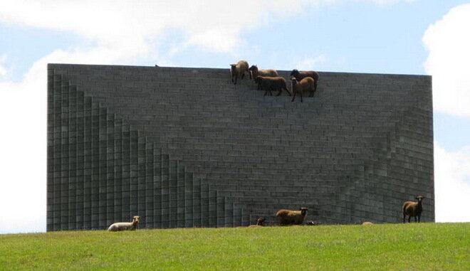 Ферма Гиббса. Новая Зеландия