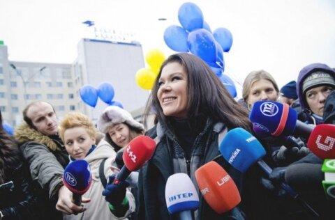Новогодняя ночь на Евромайдане. Национальный гимн Украины и КНИГА РЕКОРДОВ ГИННЕСА