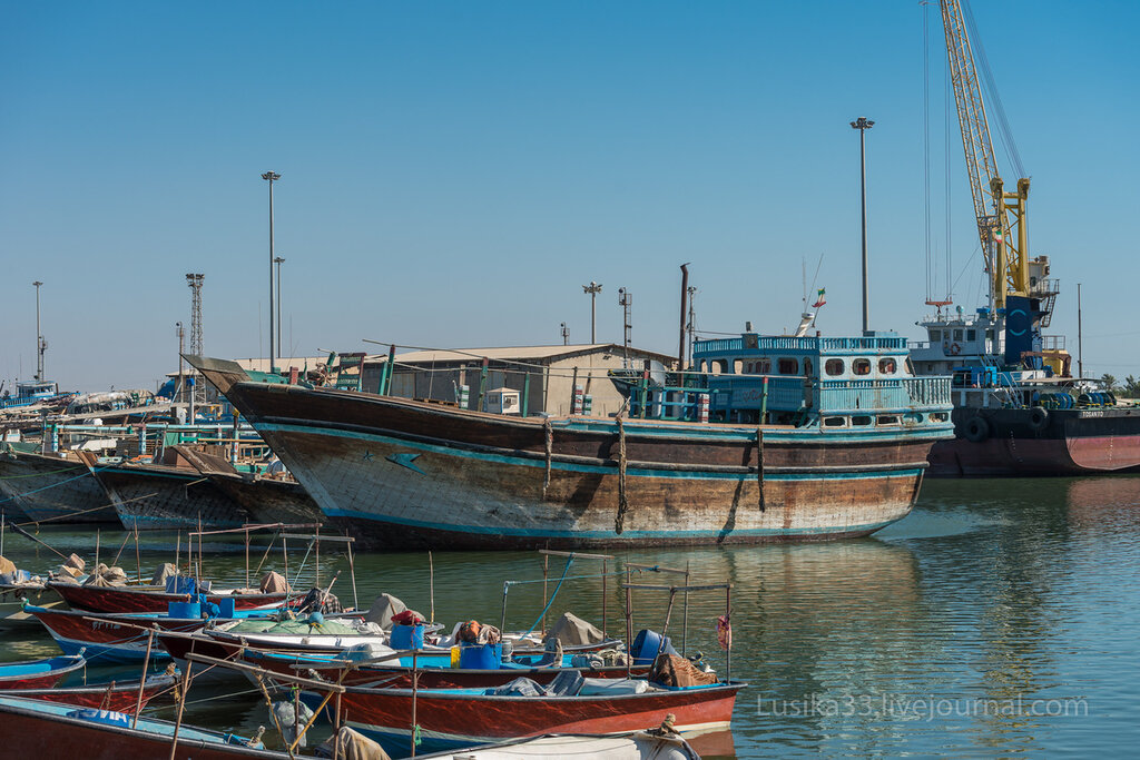 Иран, Побережье Персидского залива