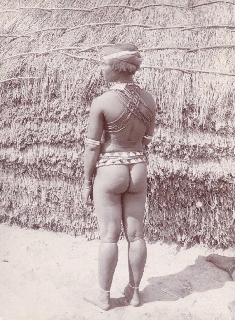 1900. Молодая зулуска