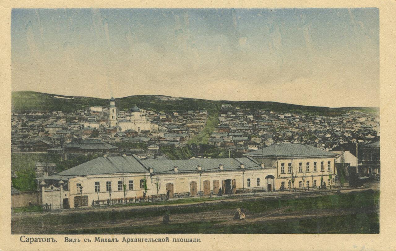 Вид с Михаило-Архангельской площади
