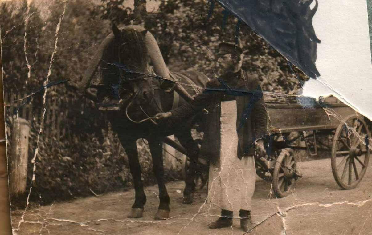 1930-е. Староста храма села Введенское