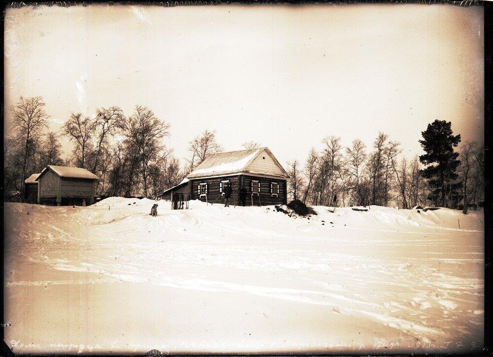 1913. Село Ларьяк.  Дом инородца