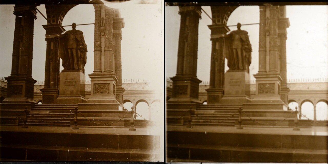 Москва. Памятник Александру II