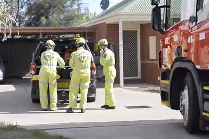 Голый австралиец «нечаянно» застрял в обычной стиральной машине