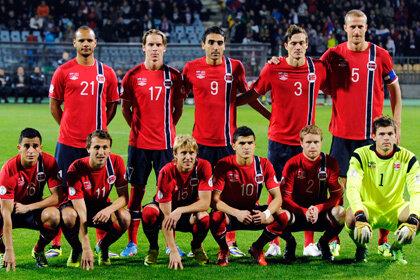 Варяги – спарринг для футбольной  сборной России