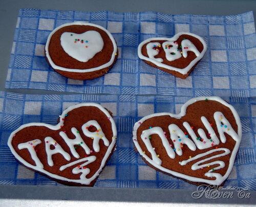 имбирное печенье, печеньки, вкусняшки