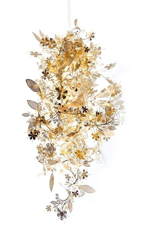 Оригинальная лампа - цветочная лиана