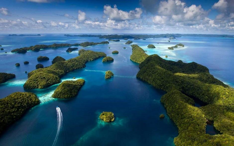 Скалистые острова (Rock Islands), архипелаг Палау