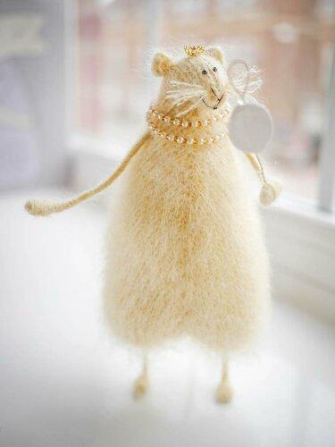 потрясающие вязаные мышки!