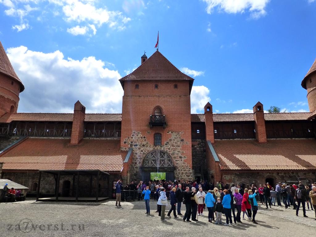 Тракайский замок, Литва