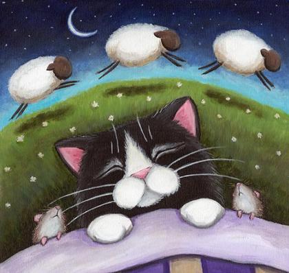 Пересчитывая баранов, незабудь заснуть!