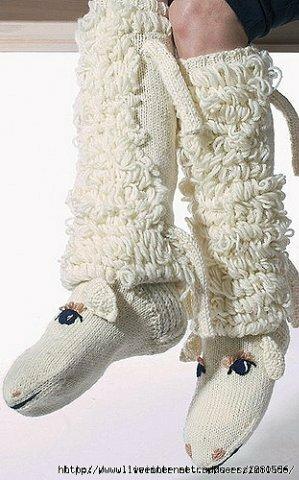 носки овечка