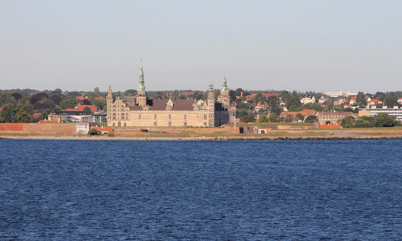 пролив Эресунн, Öresund, замок Кронборг, Kronborg castle