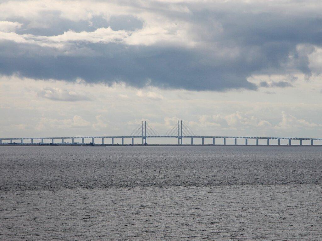 Эресуннский мост, Öresund bridge,